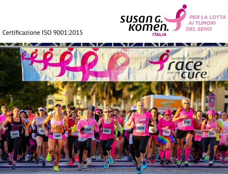 Susan Komen Italia - Centro HPV Villa Mafalda - Roma